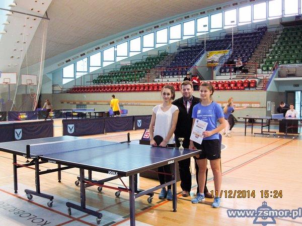 Mistrzostwa Powiatu Kołobrzeskiego wdrużynowym tenisie stołowym
