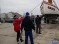 Koniec sezonu, wyciąganie łodzi