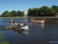 Regaty wiosłowe łodzi DZ