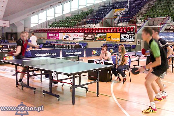 Powiatowe Mistrzostwa Szkół Ponadgimnazjalnych w tenisie stołowym