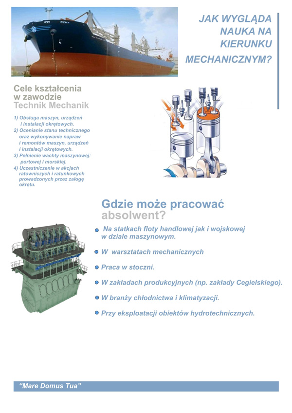 Technik mechanik okrętowy