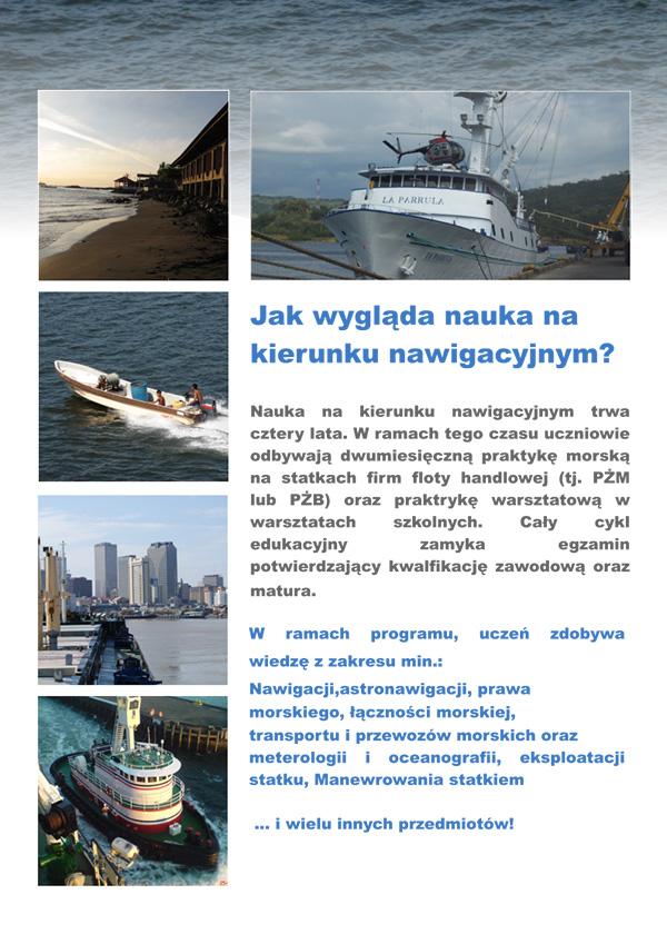 Technik nawigator morski