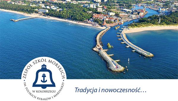 Witamy w Zespole Szkół Morskich w Kołobrzegu
