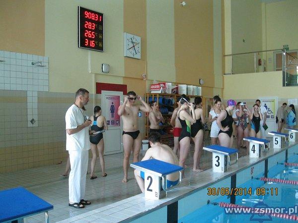 Powiatowe Mistrzostwa Szkół Ponadgimnazjalnych w pływaniu