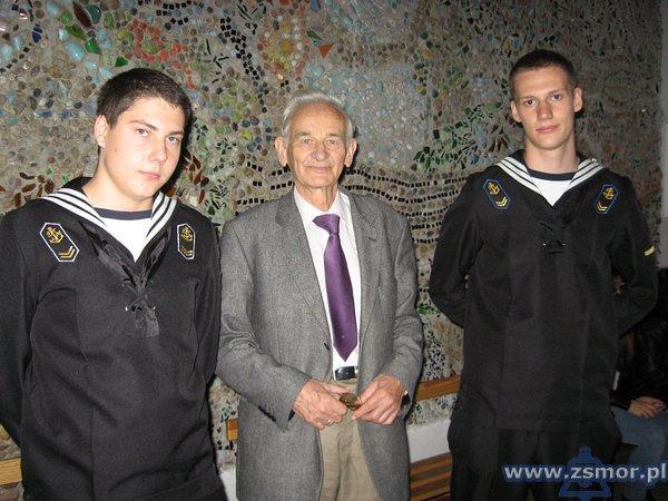 Z synem Witolda Pileckiego