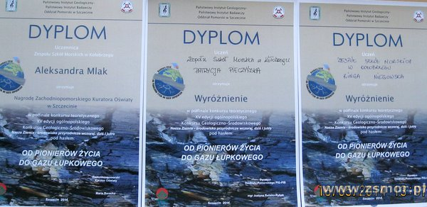 Półfinał Ogólnopolskiego Konkursu Geologiczno-Środowiskowego