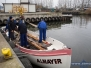 2014.11.20 Koniec sezonu, wyciąganie łodzi