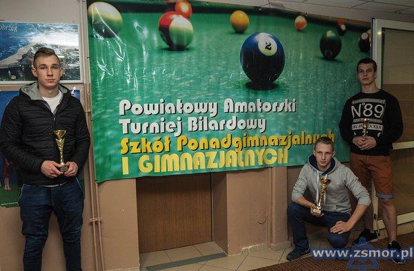 VI Powiatowy Amatorski Turniej Bilardowy Szkół Ponadgimnazjalnych iGimnazjalnych Miasta Kołobrzeg