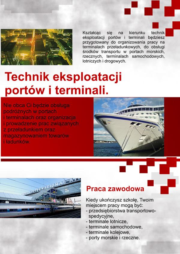Technik eksploatacji portów iterminali